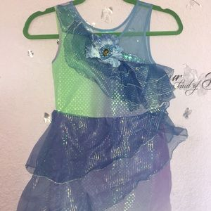 Girls Size 7/8 Disney Princess Silvermist Costume